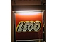 Gear No: displaysignLt04  Name: Display Sign Medium LEGO Logo, Lighted (220V)