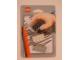 Gear No: eraser09  Name: Eraser, LEGO Brick Set of 3 (Black, White & Light Gray) blister pack