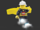 Gear No: headlamp5  Name: Head Lamp, Minifigure LED Headlamp Torch - Fireman