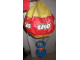 Gear No: hotairballoon  Name: Display Balloon, Inflatable Hot Air Balloon with LEGO Logo Pattern, thick-skin plastic