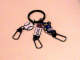 Gear No: ickc04  Name: Imagination Center Key Chain Male player with Baseball