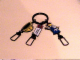 Gear No: ickc13  Name: Imagination Center Key Chain Male worker with Construction helmet