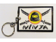 Gear No: kcninja  Name: Ninja Logo Key Chain