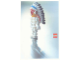 Gear No: lap02-020  Name: Postcard - Lego Art Project 2002 - 020 - Skeleton Minifigure with Head of Indian Chief