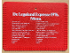 Gear No: legolandmenu  Name: Menu De Legoland Expresse 1976