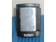 Gear No: lighter02  Name: Lighter, Zippo Brand with Engraved Lego Logo on Right