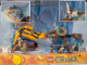 Gear No: locAM03  Name: Display Assembled Set, Legends of Chima Sets 70144, 70143 in Plastic Case with Light, Sound and Lever