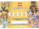 Gear No: loyc18mf01  Name: Minifigures Loyalty Card 2018