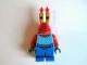 Gear No: magbob005  Name: Magnet, Minifigure SpongeBob, Mr. Krabs