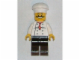 Gear No: magchef  Name: Magnet, Minifigure Chef - Curly Moustache, Black Legs
