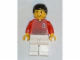 Gear No: magsoc086  Name: Magnet, Minifigure Soccer Player Red/White Team with Shirt #2