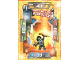 Gear No: nex1deLE7  Name: Nexo Knights Trading Card Game (German) Series 1 - LE7 Clay mit dem Fortrex Card