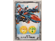 Gear No: nex2de135  Name: Nexo Knights Trading Card Game (German) Series 2 - #135 Clays Blaster-Falke Card