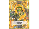 Gear No: nex2deLE2  Name: Nexo Knights Trading Card Game (German) Series 2 - LE2 Mächtiger Aaron Card