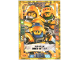 Gear No: nex2deLE7  Name: Nexo Knights Trading Card Game (German) Series 2 - LE7 Mächtige Drei Ritter Card
