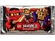 Gear No: njo1depack  Name: Ninjago Trading Card Game (German) Series 1 Card Pack
