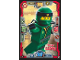 Gear No: njo3de004  Name: Ninjago Trading Card Game (German) Series 3 - #4 Stunt Lloyd Card
