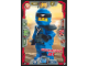 Gear No: njo3de034  Name: Ninjago Trading Card Game (German) Series 3 - #34 Entschlossener Jay Card