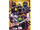 Gear No: njo3de038xxl  Name: Ninjago Trading Card Game (German) Series 3 - # 38 Ultra Power Ninja Go! Card (Oversize XXL Card)