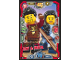 Gear No: njo3de046  Name: Ninjago Trading Card Game (German) Series 3 - #46 Ray & Maya Card
