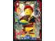 Gear No: njo3de062  Name: Ninjago Trading Card Game (German) Series 3 - #62 Nudel Skylor Card