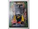 Gear No: njo3de083  Name: Ninjago Trading Card Game (German) Series 3 - #83 Verrückter Nails Card