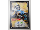 Gear No: njo3de165  Name: Ninjago Trading Card Game (German) Series 3 - #165 Zanes Bike Card