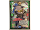 Gear No: njo3de195  Name: Ninjago Trading Card Game (German) Series 3 - #195 Mega Duell Hammerhai Card