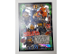 Gear No: njo3de198  Name: Ninjago Trading Card Game (German) Series 3 - #198 Mega Duell Haimonster Team Card