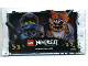 Gear No: njo3depromo  Name: Ninjago Trading Card Game (German) Series 3 Card Pack (Promo)