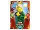 Gear No: njo3fr001  Name: Ninjago Trading Card Game (French) Série 3 - #1 Lloyd dans le Désert