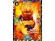 Gear No: njo3fr015  Name: Ninjago Trading Card Game (French) Série 3 - #15 Kai FS Spinjitzu Interdit
