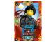 Gear No: njo3fr019  Name: Ninjago Trading Card Game (French) Série 3 - #19 Nya dans le Désert
