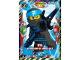 Gear No: njo3fr020  Name: Ninjago Trading Card Game (French) Série 3 - #20 Nya au Royaume du Jamais-Gelé