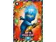 Gear No: njo3fr033  Name: Ninjago Trading Card Game (French) Série 3 - #33 Jay FS Spinjitzu Interdit