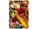 Gear No: njo4de019  Name: Ninjago Trading Card Game (German) Series 4 - #19 Power Kai Card