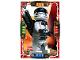Gear No: njo4de027  Name: Ninjago Trading Card Game (German) Series 4 - #27 Ninja Zane Card