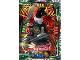 Gear No: njo4de030  Name: Ninjago Trading Card Game (German) Series 4 - #30 Ultra Duell Beinloser Jäger Card
