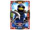 Gear No: njo4de034  Name: Ninjago Trading Card Game (German) Series 4 - #34 Stolzer Jay Card
