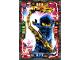 Gear No: njo4de037  Name: Ninjago Trading Card Game (German) Series 4 - #37 Legacy Jay Card