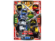 Gear No: njo4de039  Name: Ninjago Trading Card Game (German) Series 4 - #39 Ninjago City Ninja Team Card