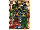 Gear No: njo4de040  Name: Ninjago Trading Card Game (German) Series 4 - #40 Power Ninja Team Card