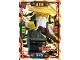 Gear No: njo4de045  Name: Ninjago Trading Card Game (German) Series 4 - #45 Power Meister Wu Card