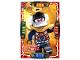 Gear No: njo4de047  Name: Ninjago Trading Card Game (German) Series 4 - #47 Gewappnete Samurai X Card