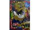 Gear No: njo4de049  Name: Ninjago Trading Card Game (German) Series 4 - #49 Ultra Duell Samurai X Card