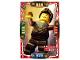 Gear No: njo4de057  Name: Ninjago Trading Card Game (German) Series 4 - #57 Glücklicher Dareth Card
