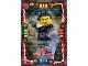 Gear No: njo4de066  Name: Ninjago Trading Card Game (German) Series 4 - #66 Ash Meister des Rauches Card
