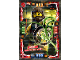 Gear No: njo4de067  Name: Ninjago Trading Card Game (German) Series 4 - #67 Bolobo Meister der Natur Card