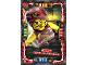 Gear No: njo4de068  Name: Ninjago Trading Card Game (German) Series 4 - #68 Gravis Meister der Schwerkraft Card