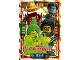 Gear No: njo4de072  Name: Ninjago Trading Card Game (German) Series 4 - #72 Mächtige Meister der Elemente Card